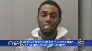 Man Charged In Killing Of College Student [Video]
