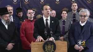 Cuomo Calls N.Y. Anti-Semitic Attack Domestic Terrorism [Video]