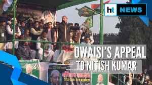 'Sever ties with BJP to save the country': Asaduddin Owaisi to Nitish Kumar [Video]