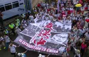 Hong Kong's turbulent year in revolt [Video]