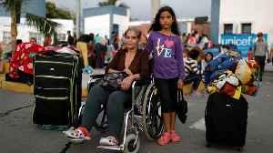 Venezuela refugee crisis: Collapsed economy causes many to flee [Video]