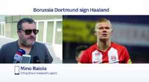 Raiola: Utd not only PL club in for Haaland [Video]