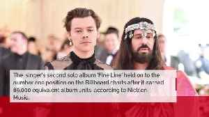 Harry Styles' Fine Line maintains US number one for second consecutive week [Video]