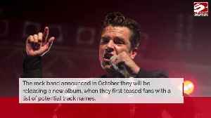 The Killers tease new tracklist for new album [Video]
