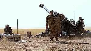 US targets pro-Iran militia bases in Iraq, Syria raids [Video]