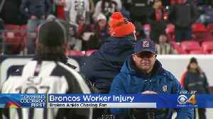 Underage Broncos Fan Cited For Running On The Field [Video]