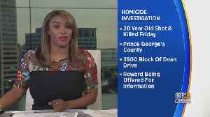 Reward Offered For Information In Fatal Shooting In Prince George's County [Video]