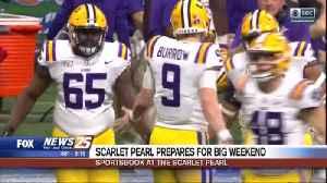 Scarlet Pearl prepares for big weekend in football [Video]
