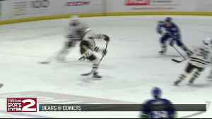 Comets climb back twice to earn point, fall to Bears in overtime [Video]