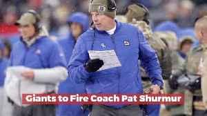 The Giants Will Fire Coach Pat Shurmur [Video]