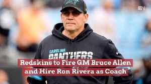 Firing GM Bruce Allen And Hiring Ron Rivera [Video]