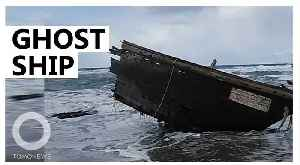 North Korea 'ghost ship' washes up on Japanese island [Video]