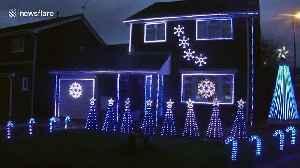 Bristol dad creates Boris Johnson Brexit Christmas lights extravaganza [Video]