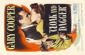 CLOAK AND DAGGER Movie (1946) Gary Cooper, Lilli Palmer, Robert Alda [Video]