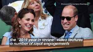 Kate and William Include Meghan and Harry in Their '2019 Year in Review' Video [Video]