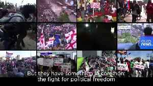 Review 2019: Protests break out across the globe [Video]