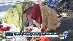 Denver police stop enforcing camping ban while city appeals court ruling [Video]
