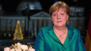 Angela Merkel vows to try and fight climate change [Video]