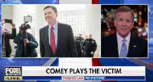 James Comey plays victim in self-pitying Washington Post op-ed [Video]