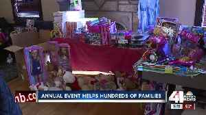 Annual event help hundreds of families in need during the holidays [Video]