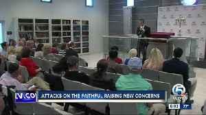 Attacks on the faithful raising new concerns [Video]