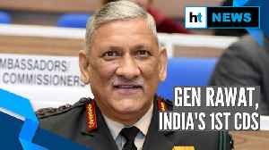 News video: Outgoing Army chief Gen Bipin Rawat is India's 1st Chief of Defence Staff
