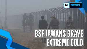 Watch: In freezing temperature, BSF jawans high on 'josh'along the border [Video]