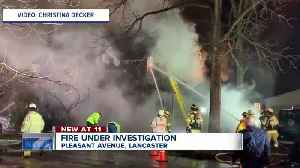 Lancaster house a total loss after fire [Video]