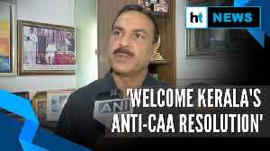 'Maharashtra should follow Kerala Assembly's anti-CAA resolution': Cong leader [Video]