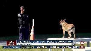 Florida Gulf Coast police K9 competition planned this weekend [Video]