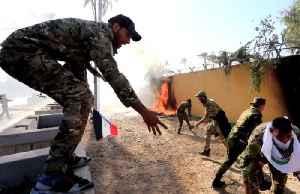 News video: Iraq decries air strikes, U.S. embassy evacuates under siege