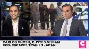 Ousted Nissan CEO Carlos Ghosn Flees Trial in Japan [Video]