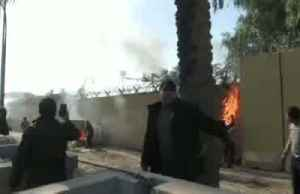 Iraq decries air strikes, U.S. embassy evacuates under siege [Video]