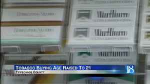 Local vape shop owner reacts to new law raising tobacco age to 21 [Video]
