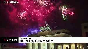 Fireworks as the new decade sweeps in across Europe [Video]