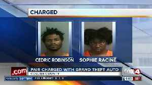 Pair charged with Grand Theft Auto in Collier County [Video]