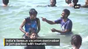 Goa jam packed with tourists for New Year celebrations [Video]