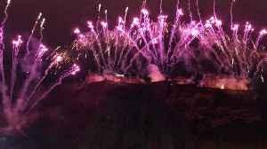 Hogmanay celebrations as Edinburgh welcomes start of 2020 [Video]