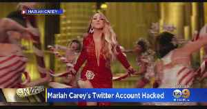 Eye On Entertainment: Mariah Carey's Twitter Account Hacked [Video]