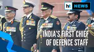 News video: 'We stay away from politics': Gen Bipin Rawat takes charges as India's 1st CDS
