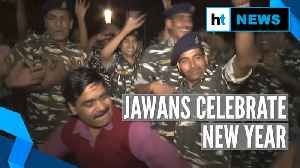 Watch: ITBP, CRPF jawans welcome New Year 2020, dance with enthusiasm [Video]