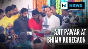 Watch: Maha Deputy CM Ajit Pawar pays tribute at Bhima Koregaon memorial [Video]
