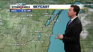 Michael Fish's NBC 26 weather forecast [Video]