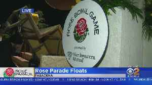Rose Parade Floats Make Big Debut [Video]