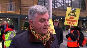 Privatisation is root of inefficient rail service, RMT says [Video]