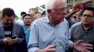 Sanders Reveals Impressive Forth Quarter Haul [Video]