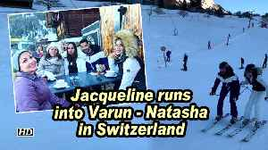 Jacqueline runs into Varun- Natasha in Switzerland [Video]