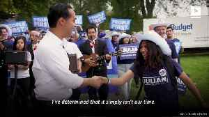 Julián Castro Ends 2020 Presidential Campaign [Video]
