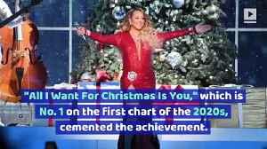 Mariah Carey Makes 'Billboard' History [Video]