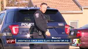 Anonymous donor gifts $2k to Miami Twp. Police Department [Video]